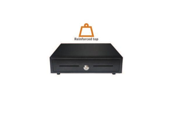 Reinforced steel cash drawer (VK-410+)