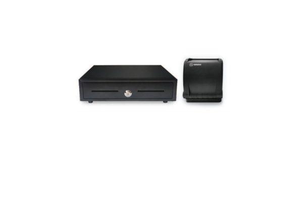 Sliding Cash Drawer (VK-410) + Sewoo Printer (LK-TS400)